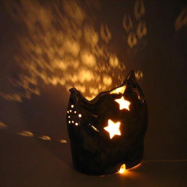 【送料無料】陶器 灯り(28) 陶芸家オリジナル 一点ものの画像1枚目