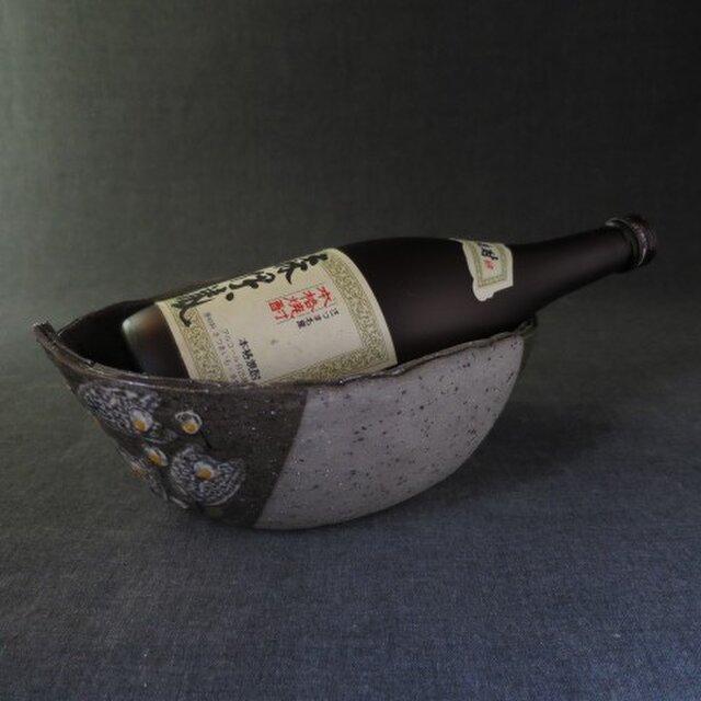 陶器 ワインクーラー(22) 陶芸家オリジナルの画像1枚目