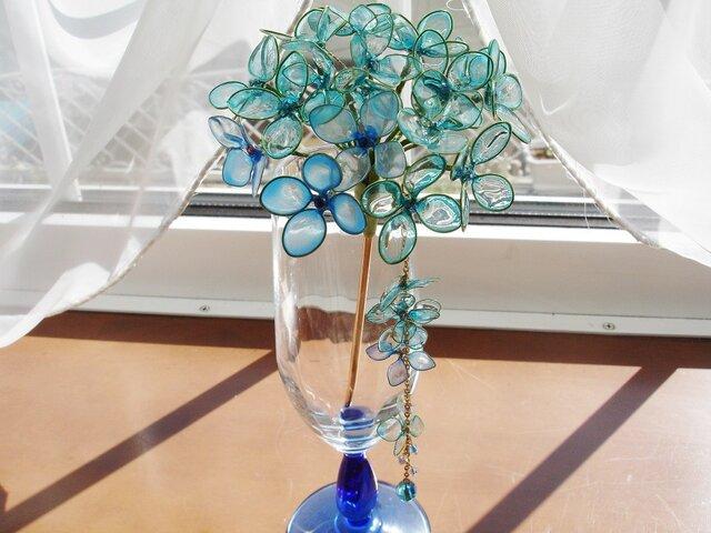 サファイアオーロラの紫陽花(かんざし)の画像1枚目