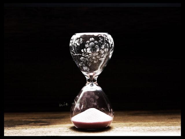 【受注制作】砂時計*s--桜の画像1枚目