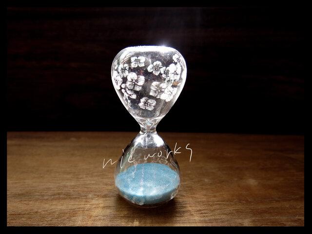 【再販】砂時計*s--小花の画像1枚目