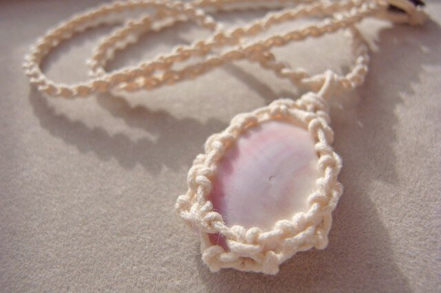 shell necklace #4の画像1枚目