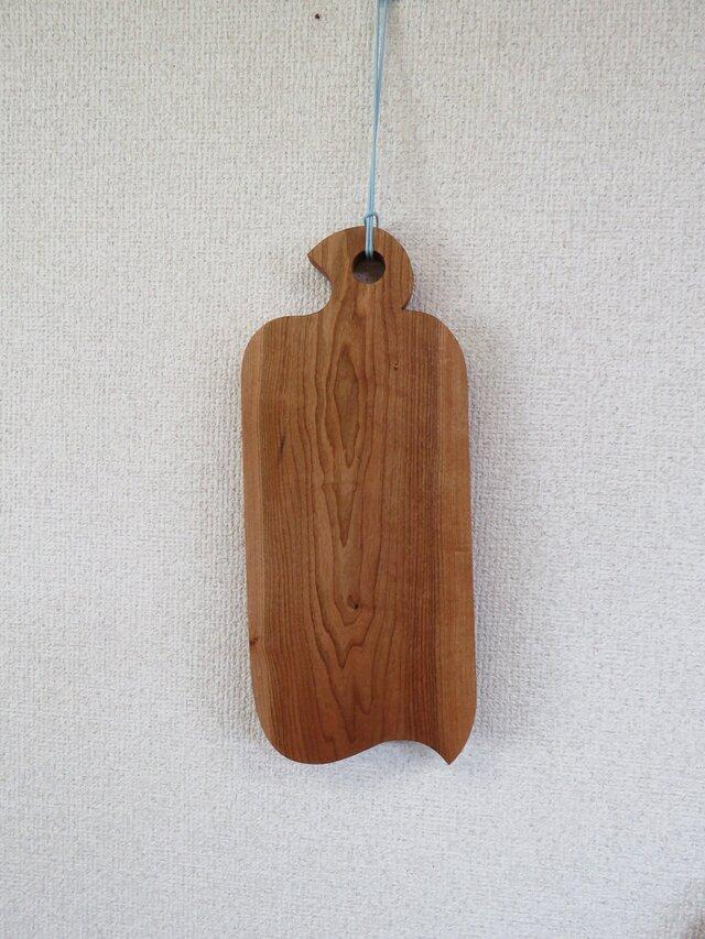 山桜(シウリ桜)のカッテングボード J (カッテングボートレイ)saの画像1枚目