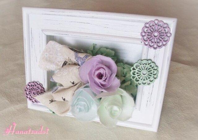 手漉き和紙花ギフト 優しいパステルカラーアレンジメントの画像1枚目
