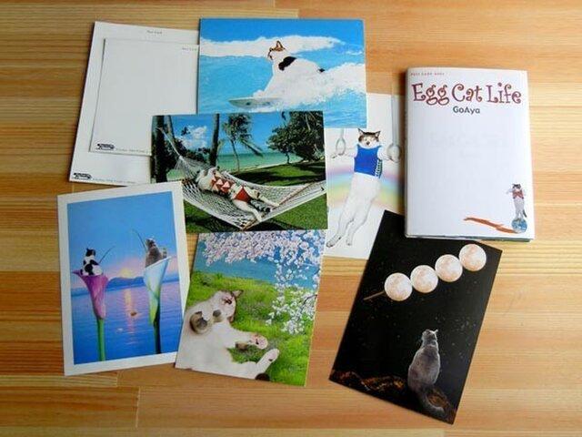 ポストカードブック/Egg Cat Lifeの画像1枚目