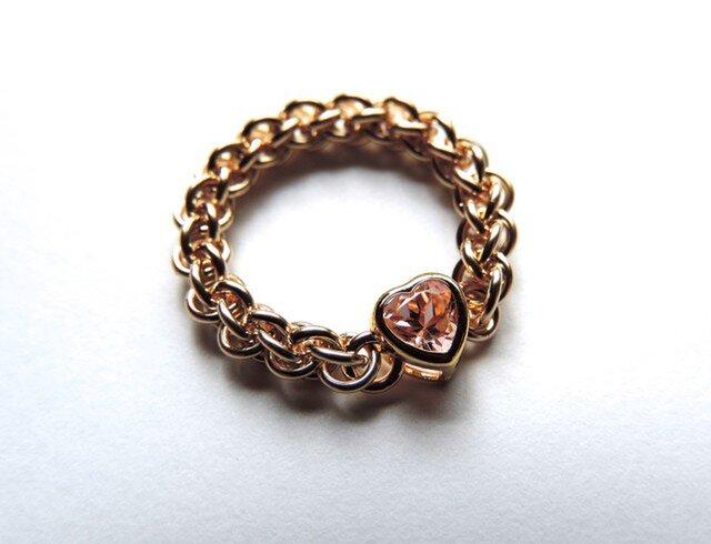 『 Codial heart 』Ring by K14GFの画像1枚目