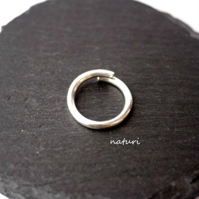【luna】sv925 moon ring Ⅲの画像1枚目