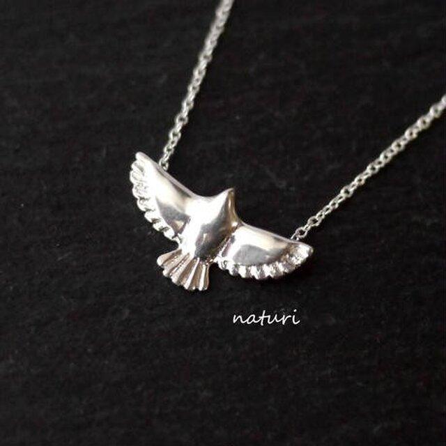 【aigle】sv925 eagle nacklaceの画像1枚目
