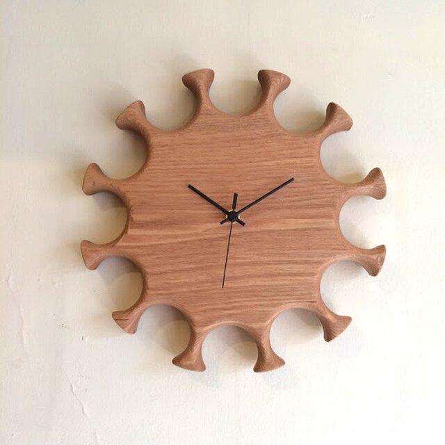 掛け時計 hana <受注製作品>の画像1枚目