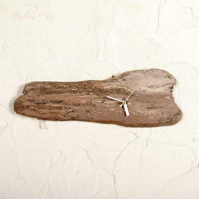 流木の壁掛け時計、縦横兼用-9の画像1枚目