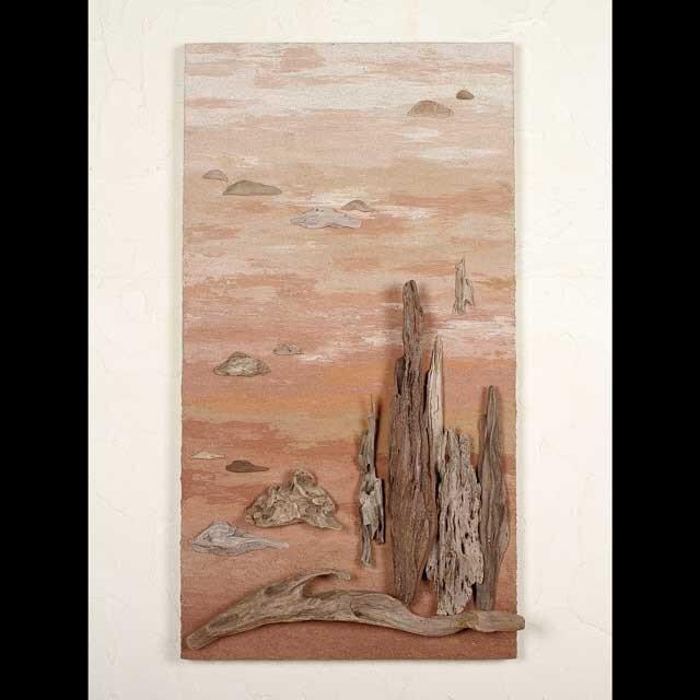 流木で描く山水画(L saiz) #18の画像1枚目
