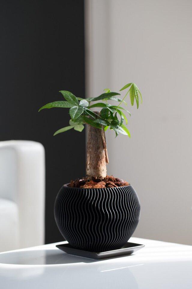植木鉢|鉢口径10.8cm[プラスチック樹脂]の画像1枚目