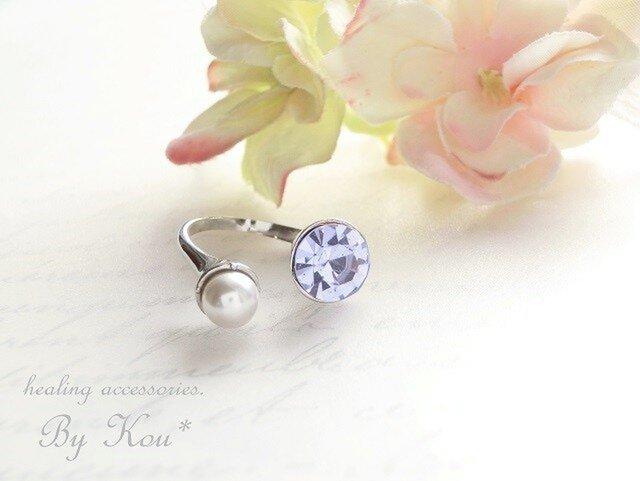 *美シルエット*Vintage Ring。∽alexandrite∽の画像1枚目