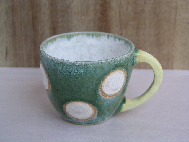 マグカップ (白ドット)の画像1枚目