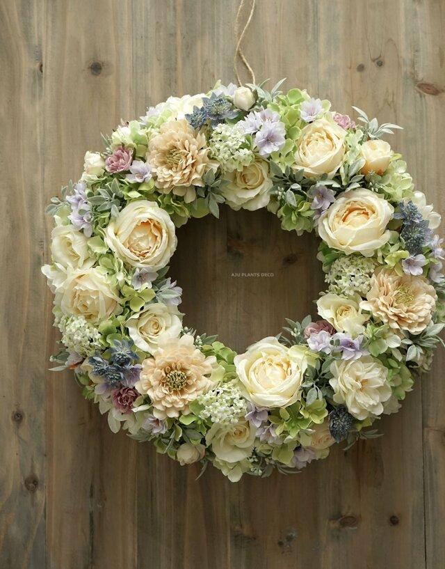 Summer Wreath   40cmの画像1枚目