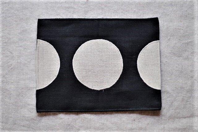 カフェマット 生成りの月の画像1枚目