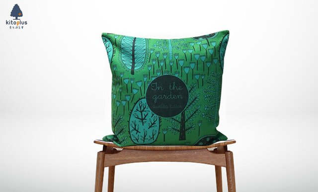 森のクッション The Garden Type B -ヒノキの香り-の画像1枚目