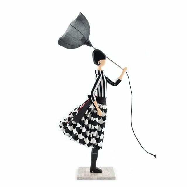 風のリトルガールおしゃれランプ Frida スタンドライト 受注製作 送料無料の画像1枚目