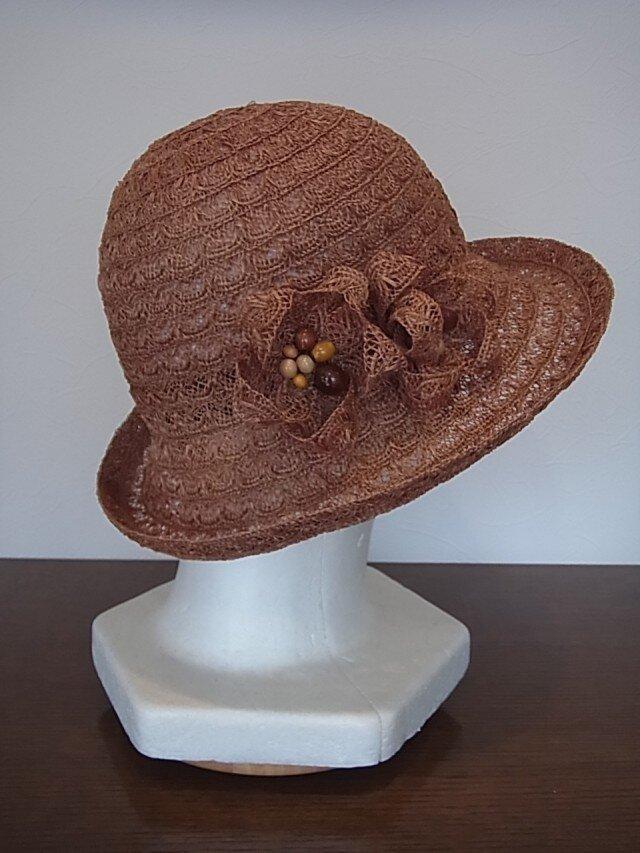 sold out(手染めブレード)ビワの帽子の画像1枚目