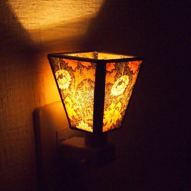 ウィリアムモリスののおやすみランプ【受注制】の画像1枚目