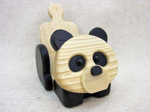 《パンダ》のガラケー&スマホスタンド(スマホは横置きで)の画像1枚目