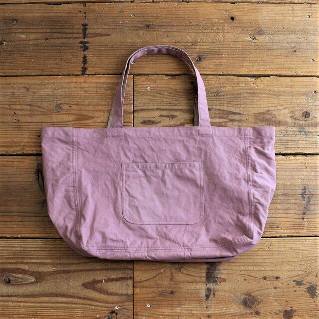 hanpu A3-tote : vintage pink :の画像1枚目