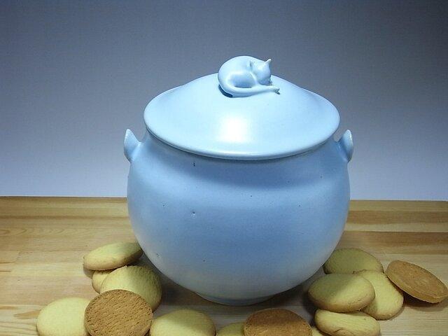 アイスブルー・クッキージャー・ニャンコー5の画像1枚目