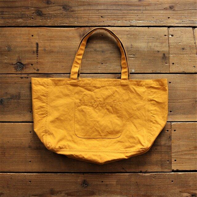 hanpu A3-tote : mustard :の画像1枚目