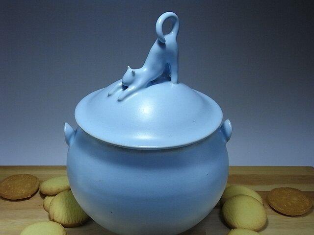 アイスブルー・クッキージャー・ニャンコー8の画像1枚目