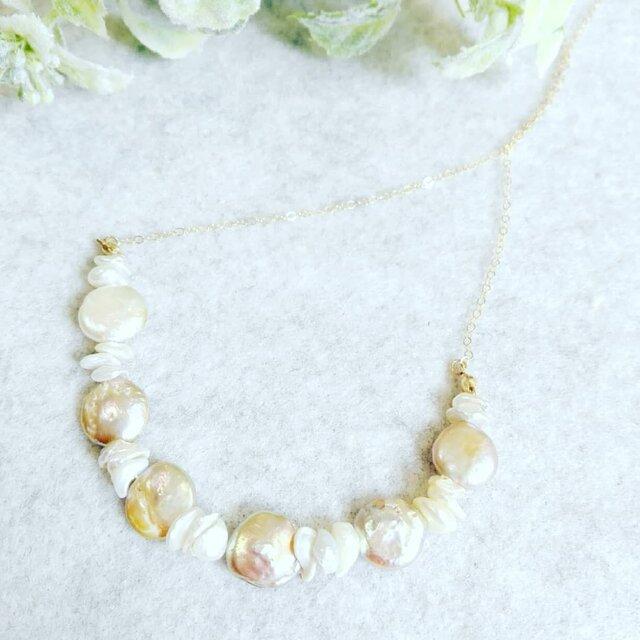 14kgf genuine pearl  (GF)の画像1枚目