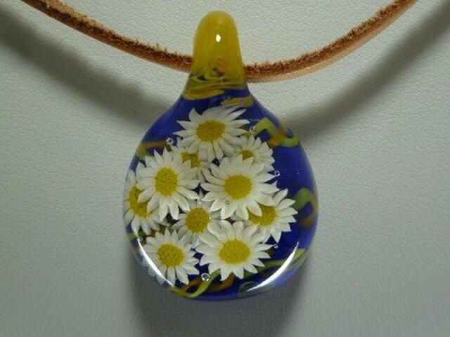 花、花、花、NO.1(ガラス、ペンダント)の画像1枚目