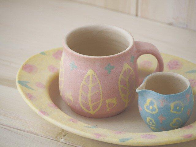 いっちんマグカップ・ハニーポット-ピンク-の画像1枚目
