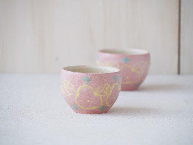 いっちん豆小鉢(丸)-ピンク-の画像1枚目