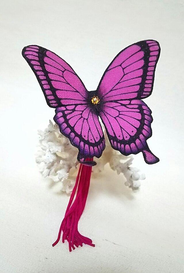 蝶のかんざし(大)アゲハの画像1枚目