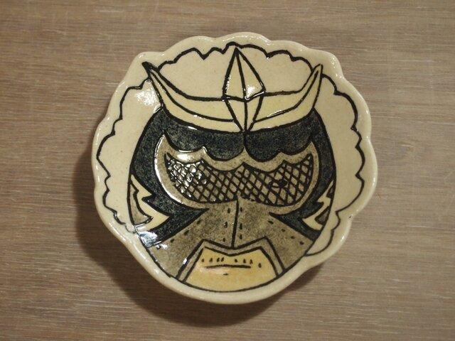 ルチャの豆皿(陶器)の画像1枚目