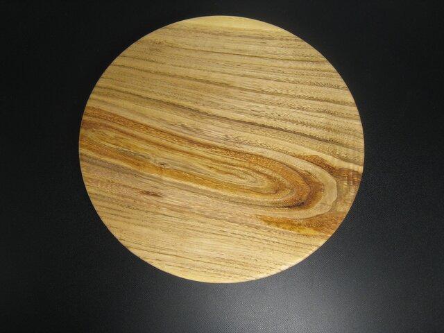 栗の木の皿の画像1枚目