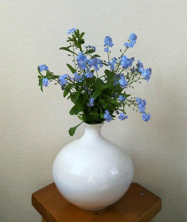 花器~白丸の画像1枚目