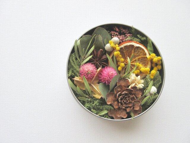 [再販] Tea cans flowersの画像1枚目