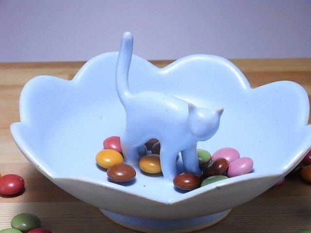 Cat Loverのためのジュエリーディッシュ・アイスブルー10の画像1枚目