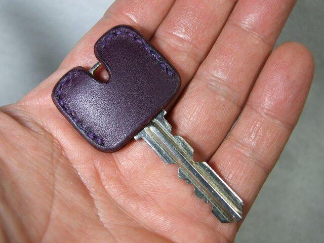 紫のキージャケットの画像1枚目