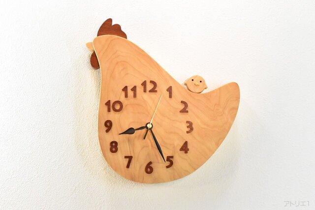 コッコさんの掛け時計【クオーツ時計】の画像1枚目