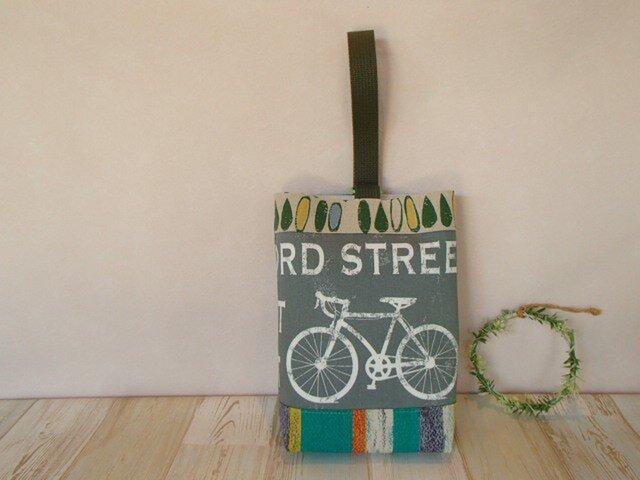 自転車の上履き入れの画像1枚目
