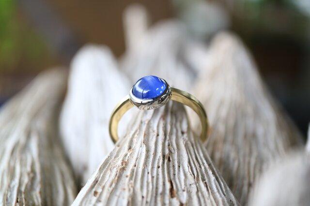 スターサファイヤ指輪の画像1枚目