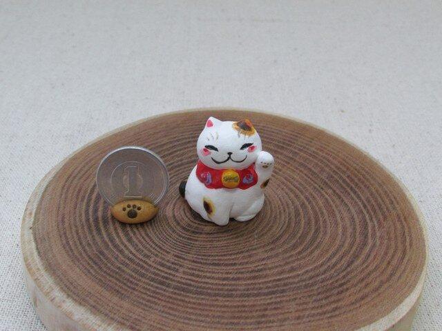 豆招き猫 1の画像1枚目