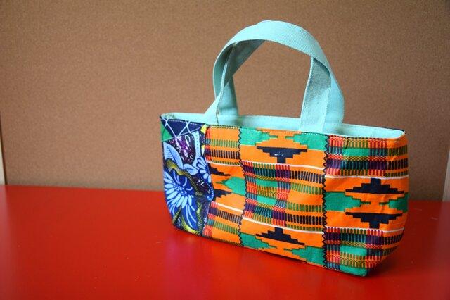 k138,139,140,143-アフリカ布保冷バッグの画像1枚目