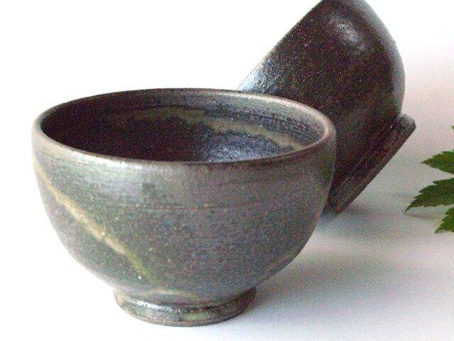 黒い飯椀の画像1枚目