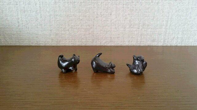 豆猫 なかよしトリオの画像1枚目