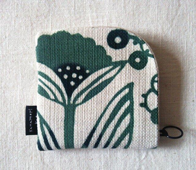 【H様専用】型染め 財布「植物採集」の画像1枚目