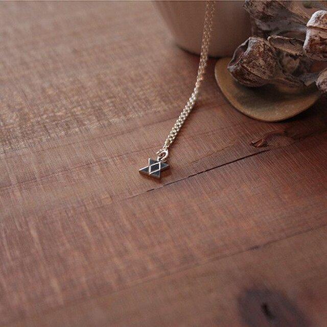 針突切抜首飾イチチブシ(五つ星) rp-70の画像1枚目