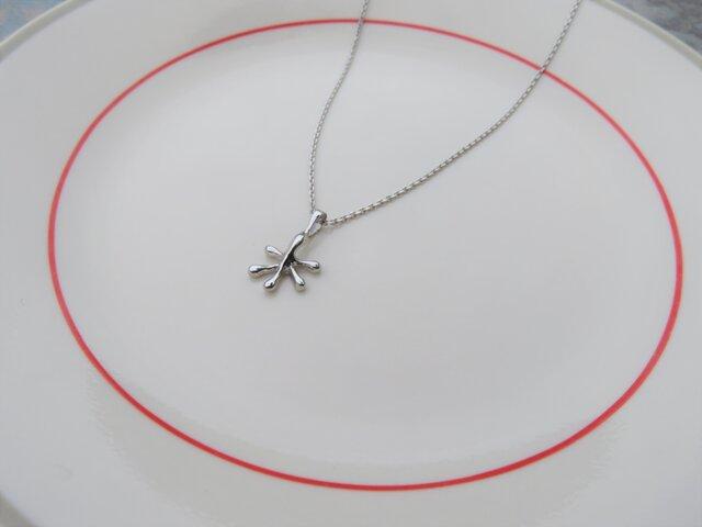 "Gekko silver finger pendant ""ゲッコーの手のペンダントトップ""の画像1枚目"